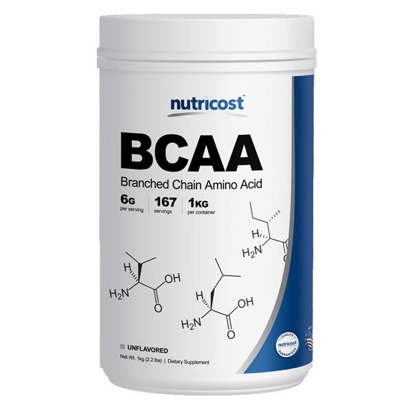 [헬스보충제] 뉴트리코스트 BCAA 슈퍼대용량 파우더 1kg