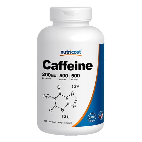 [건강보조제] 뉴트리코스트 카페인 대용량 500캡슐