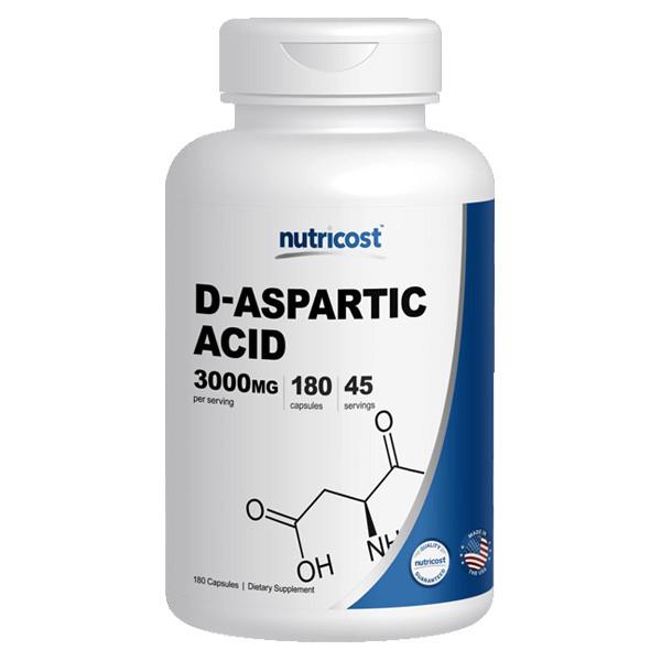 [헬스보충제] 뉴트리코스트 DAA 디 아스파틱산 180캡슐
