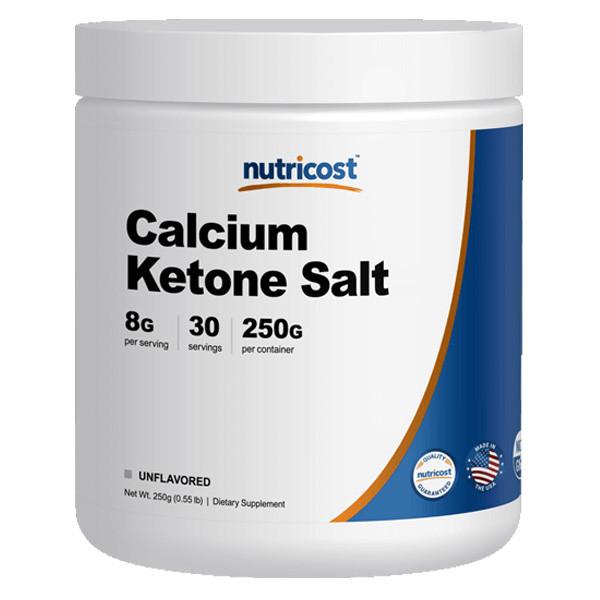 [케토제닉 다이어트 보조제] 뉴트리코스트 칼슘 케톤 솔트 250g