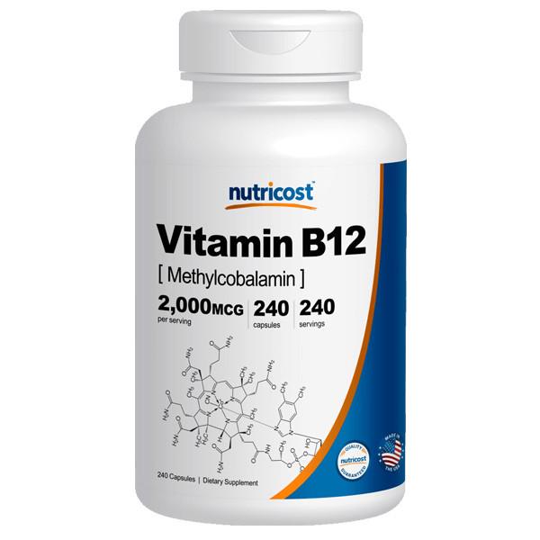 [비타민 영양제] 뉴트리코스트 비타민B12 대용량 240캡슐
