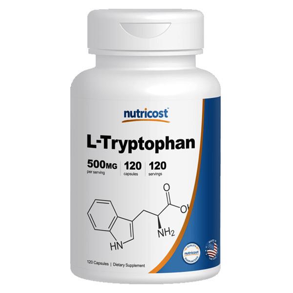 [건강보조제] 뉴트리코스트 L-트립토판 120캡슐