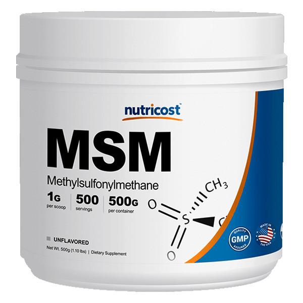 [관절보조제] 뉴트리코스트 MSM 대용량 파우더 500g