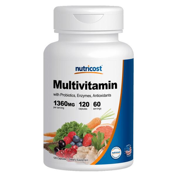 [비타민 영양제] 뉴트리코스트 멀티비타민 120캡슐