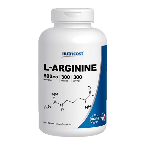 [남성건강보조제] 뉴트리코스트 L-아르기닌 300캡슐