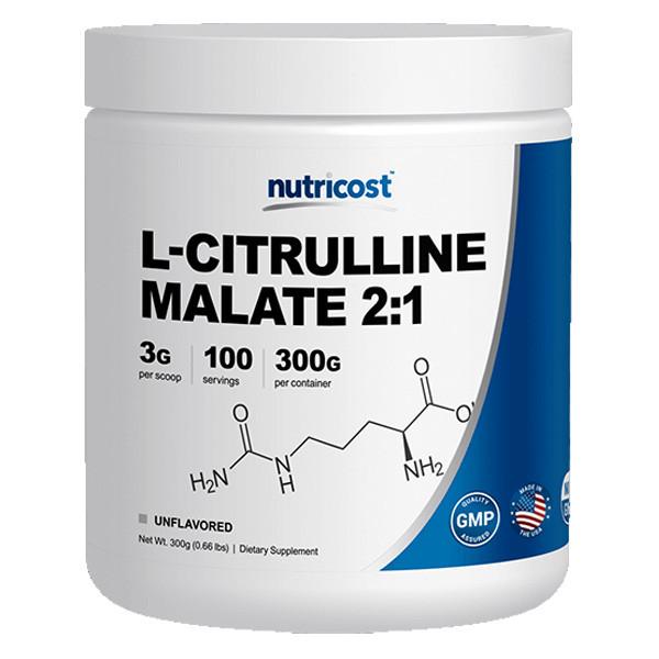 [헬스보충제] 뉴트리코스트 L시트룰린 말레이트 파우더 300g