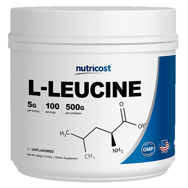 [헬스보충제] 뉴트리코스트 류신 로이신 대용량 파우더 500g