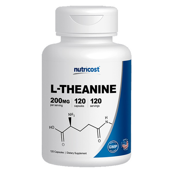 [건강보조제] 뉴트리코스트 L-테아닌 120캡슐