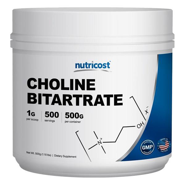 [헬스보충제] 뉴트리코스트 콜린 비타트레이트 대용량 파우더 500g