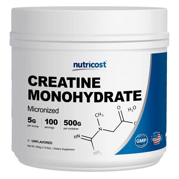 [헬스보충제] 뉴트리코스트 모노크레아틴 대용량 파우더 500g