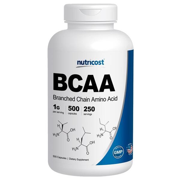 [헬스보충제] 뉴트리코스트 BCAA 2:1:1 500캡슐