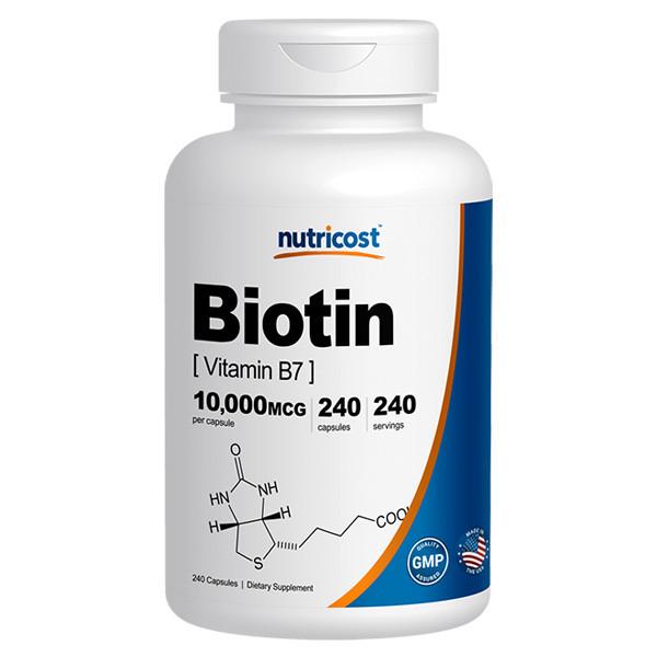 [손발톱 모발 영양제] 뉴트리코스트 비오틴 240캡슐