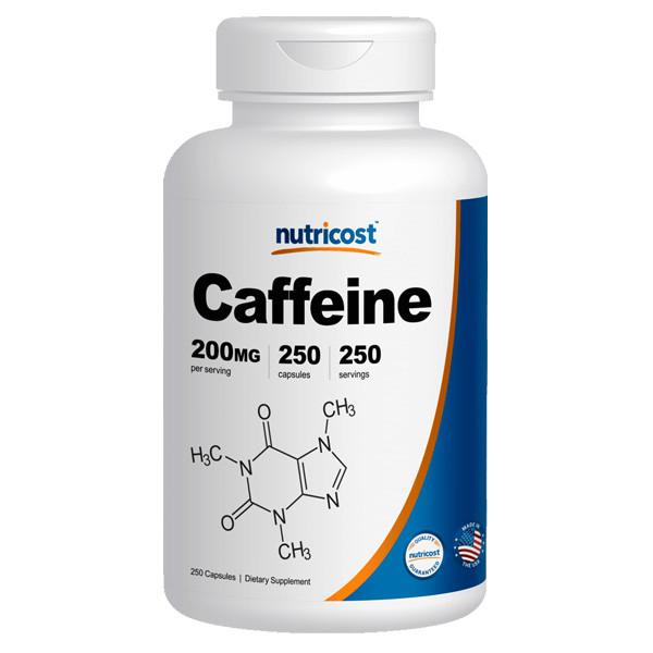 [건강보조제] 뉴트리코스트 카페인 250캡슐