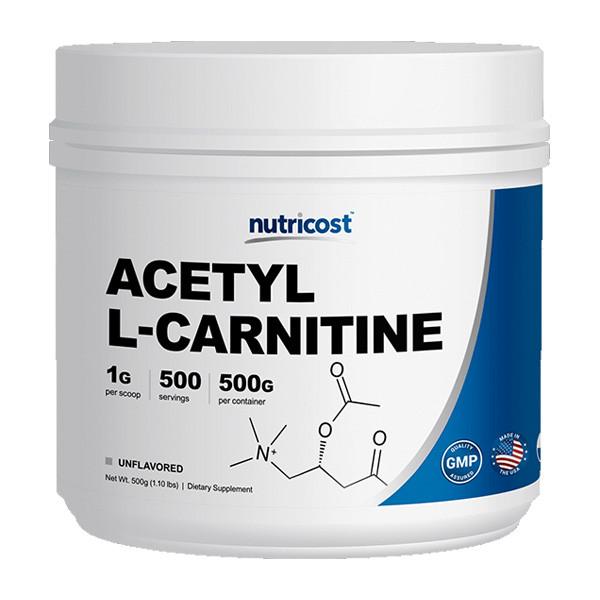 뉴트리코스트 아세틸 L-카르니틴 파우더 500g
