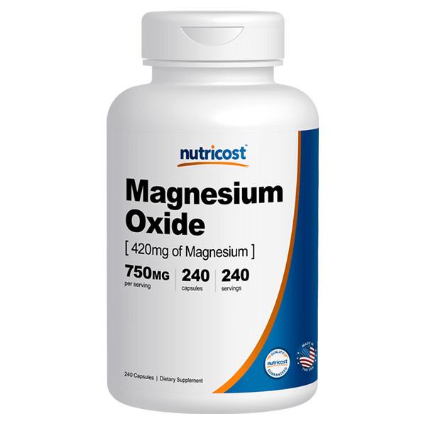 [1+1][건강보조제] 뉴트리코스트 산화 마그네슘 240캡슐