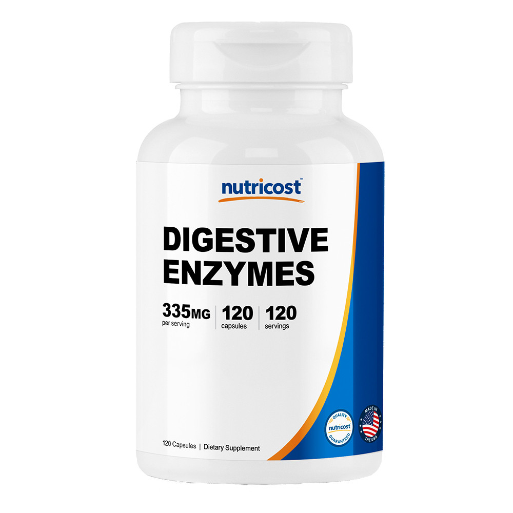 Digestive Enzymes 소화 효소 335mg 캡슐