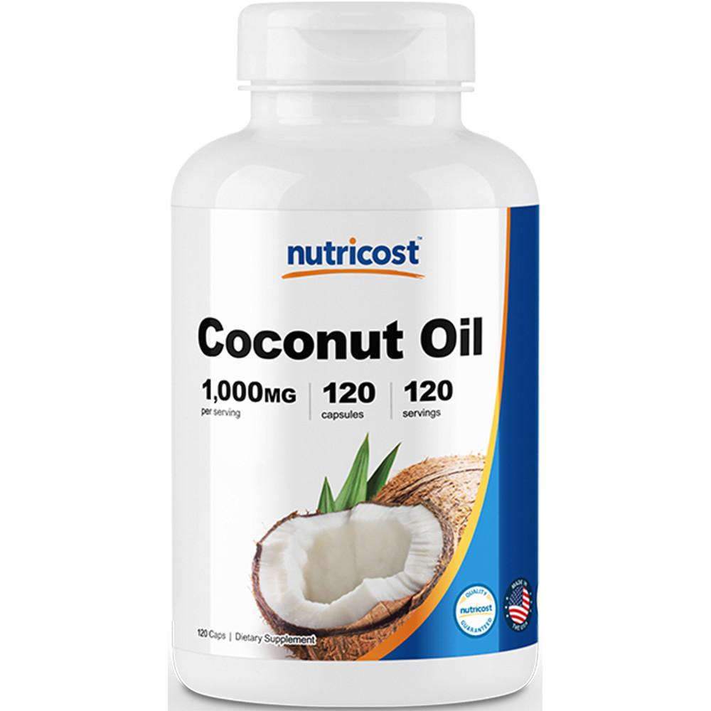 코코넛 오일 1,000mg 캡슐