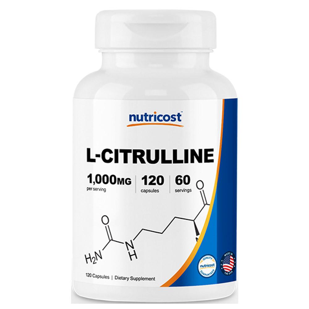 뉴트리코스트 L 시트룰린 120캡슐 [500mg]