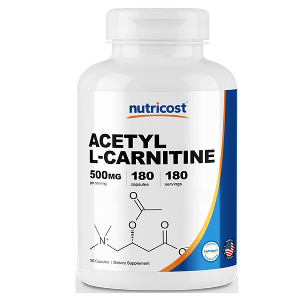 뉴트리코스트 아세틸 L-카르니틴 180캡슐