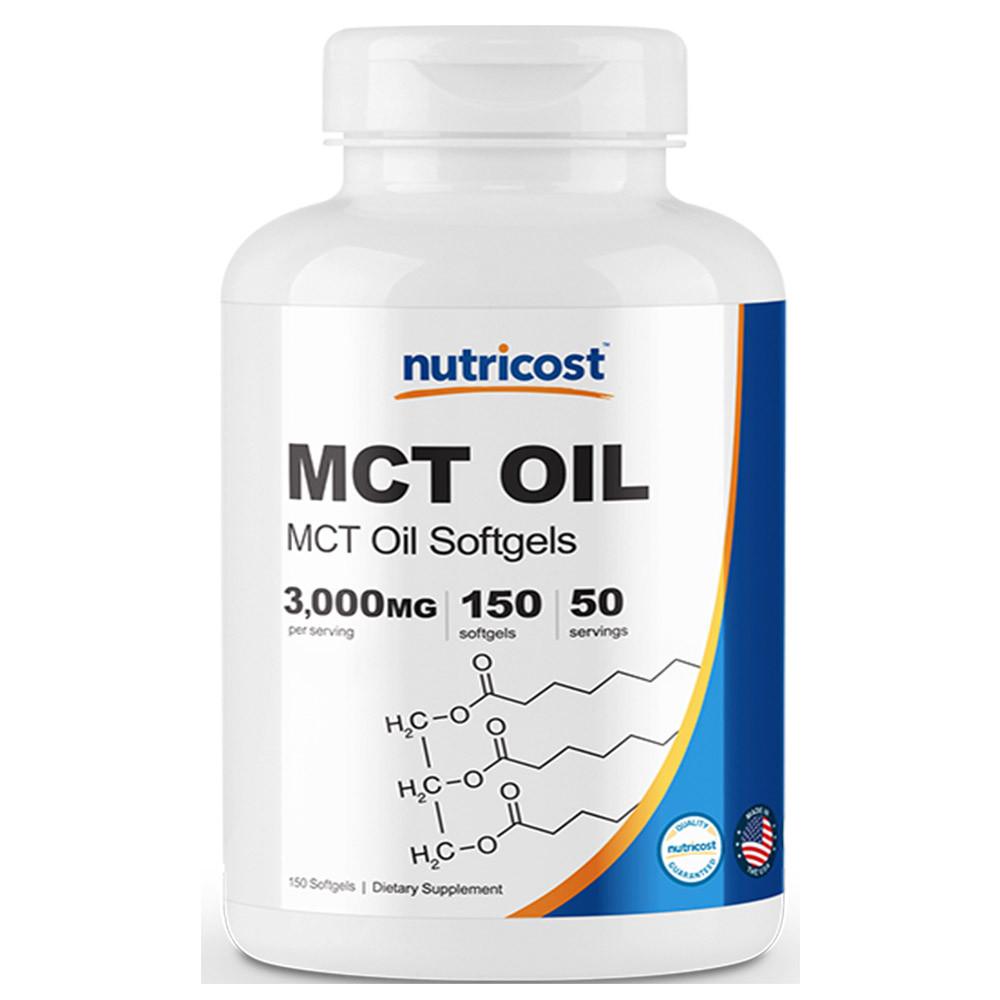 뉴트리코스트 MCT 오일 150 소프트젤